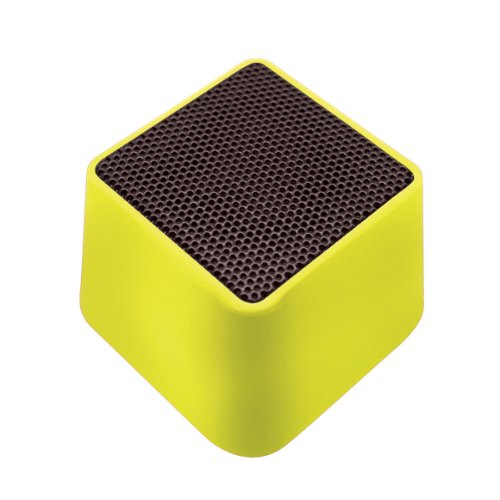 VIBE SOUND VSAU-513-GRN Bluetooth Rhombo Speaker for Smartphones – Retail Packaging – Green