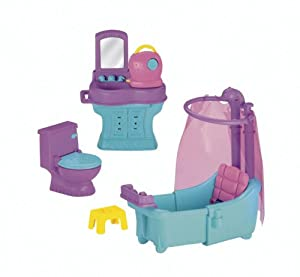 Fisher-Price Dora The Explorer Design and Surprise Furniture Bathroom