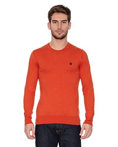 Polo Club Pullover Elbow [Arancione]
