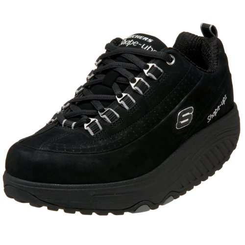 Skechers Women's Shape Ups Optimize Black Nubuck 11801 BKN 4.5 UK