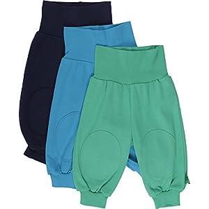 Fred's World by Green Cotton - Pantalón para bebé, pack de 3