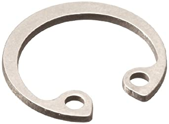 Standard Internal Retaining Ring, Tapered Section, DIN 1.4122 Stainless Steel, Passivated Finish, Meets DIN 472, Metric, Made in US