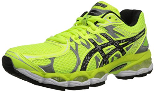 ASICS Women's Gel-Nimbus 16 Lite-Show Running Shoe,Flash Yellow/Lightning/Black,9 M US