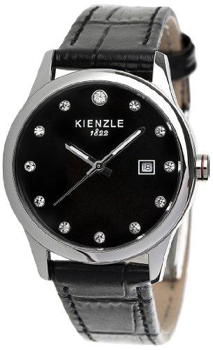 Kienzle - K3042014261-00371 - Montre Femme - Quartz Analogique - Bracelet Cuir Noir