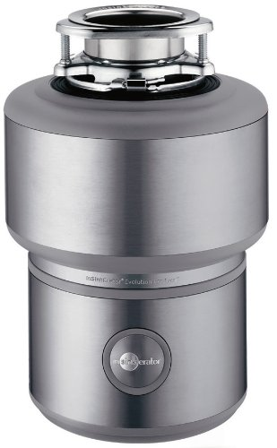 InSinkErator Evolution Pro Excel 1 HP Garbage Disposer, Stainless Steel