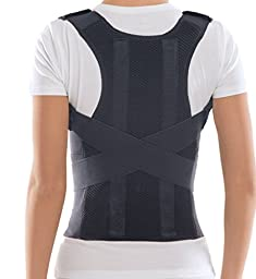 Comfort Posture Corrector Brace / 100% - Cotton Inner Layer, Waist/Belly 36\