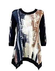 Shop My Fair Lady - Designer Clothes For Less Ladies Print Block Tunic