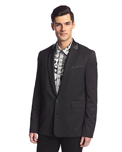 Versace Jeans Men's Satin Collar Jacket