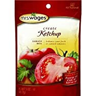 Precision Foods W541-J4425 Mrs. Wages Ketchup Tomato Mix Pack of 12