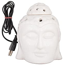 DIWALI IFT - Zayn D Buddha Ji Small Electric Aroma oil Burner + FREE diwali card