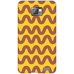 Samsung Galaxy S2 whirly whirly Phone Cover - Matte Finish Phone Cover