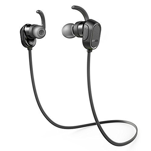 Anker SoundBuds In-Ear Sport Earbuds, Magnetic Wireless Bluetooth Headphones