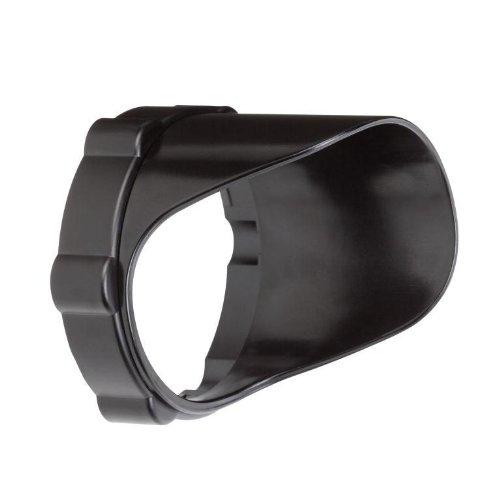 Kichler Lighting 15701Bktp Short Snap-On Cowl Accessory, Textured Black Polycarbonate