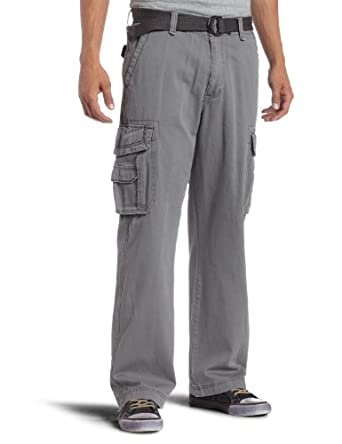 Unionbay Men's Survivor IV Cargo Pant, Satellite Belt, 38x32