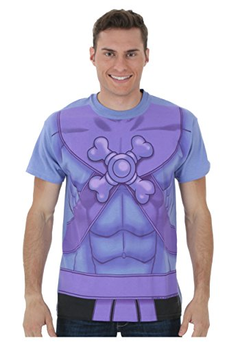 Quick and Easy I Am Skeletor Costume T-Shirt - Five Sizes from S to XXL