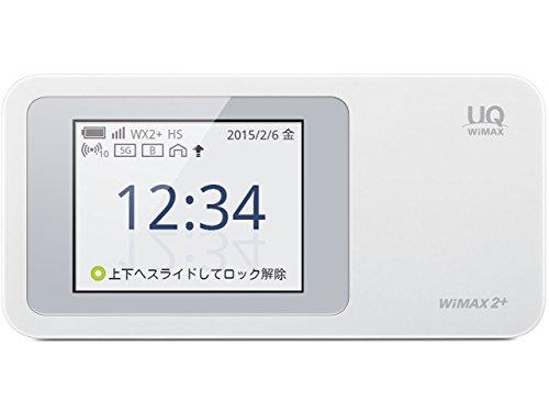 Speed Wi-Fi NEXT WiMAX 2+ W01 ホワイト  HWD31SWU