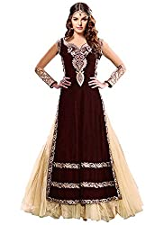 Fabboom Latest New Collection Maroon Long Salwar Kameez