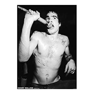Henry Rollins-London 83 Poster Poster Print, 23x33