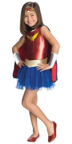 Wonder Woman Tutu Kids Costume