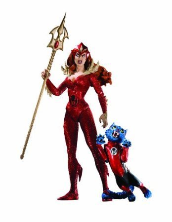 DC Direct Blackest Night: Series 7: Red Lantern: Mera Action Figure (Red Lantern Mera compare prices)