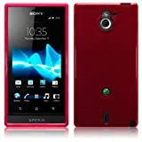 Sony Ericsson Xperia Sola Red Gel TPU Case Cover Skin Shield From The Keep Talking Shop Sony Ericsson Xperia Sola Accessories