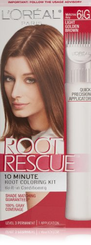 L'Oreal Paris Root Rescue Coloring Kit, Light Golden Brown 6.5G