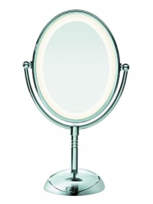 Cheapest Conair Reflections LED Lighted Collection Mirror, Polished Chrome Finish from Conair - Free Shipping Available