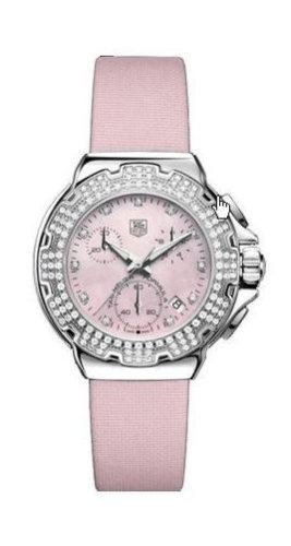 TAG Heuer Women's CAC1311.FC6220 Formula 1 Diamond Accented Chronograph Watch