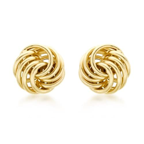 Carissima 9ct Yellow Gold Stud Earrings