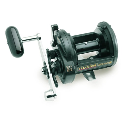 Shimano TR Levelwind Conventional Reel (4.3:1), 50 Pounds/550 Yards