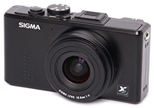 Sigma DP1x 14MP FOVEON CMOS Sensor Digital Camera and 2.5 Inch LCD