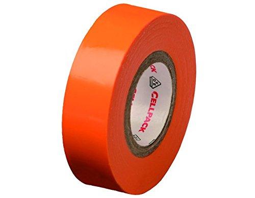 cellpack-no-128-dimensions-10m-x-15mm-x-015mm-longueur-x-largeur-x-epaisseur-orange-ruban-disolation