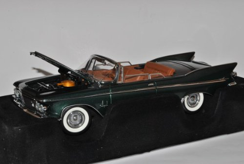 Chrysler Imperial Crown Cabrio 1961 Grün Signature 1/18 Yatming Modell Auto