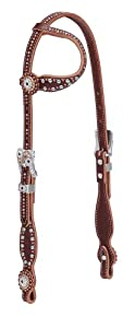 Weaver Leather Rock Star One Ear Headstall, Sunset