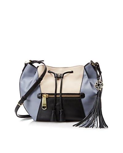 RAFE NEW YORK Women's Ariana Studded Drawstring Bag, Slate Multi As You See