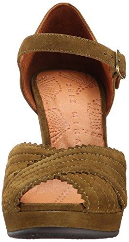 Chie Mihara Women's Lentil Dress Sandal, Ante, 39.5 EU/9.5 M US