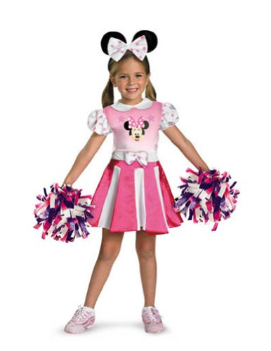 baby-girls - Minnie Mouse Cheerleader Toddler Costume 2T Halloween