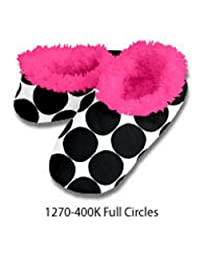 Snoozies Tween Fab Fall Collection (X-Small, Full Cirlces (Black))