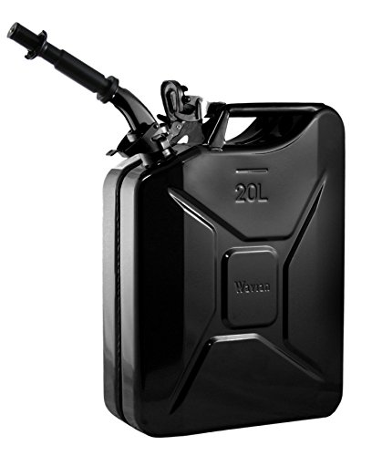 wavian-usa-jc0020bvs-authentic-nato-jerry-fuel-can-and-spout-system-black-20-litre