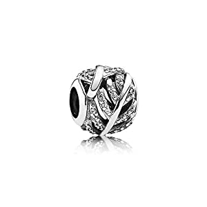 Pandora 791186CZ Pave Feder Element
