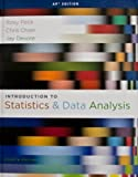 img - for INTRO.TO STAT.+DATA ANAL.-AP EDITION book / textbook / text book