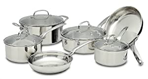 Potobelo Italia 10 Piece Cookware Set