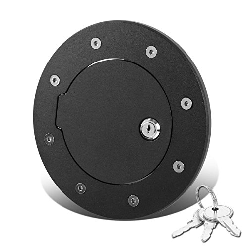 hummer-h2-gmt913-sut-fuel-gas-tank-door-with-lock-keys-black-coated
