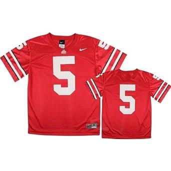 Ohio State Buckeyes #5 Nike Scarlet Youth Replica Jersey by Nike