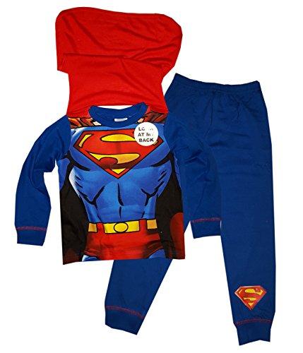 Superman -  Pigiama due pezzi  - ragazzo New Blue Superman