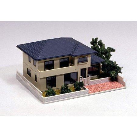 Nゲージ ストラクチャー(鉄道関連施設) 二階建アパート ラズベリー (完成品) #23-403A