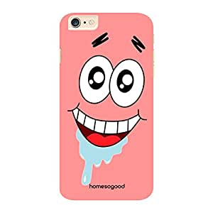 HomeSoGood Drooling In Fun Pink 3D Mobile Case For iPhone 6 Plus (Back Cover)