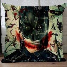 """Guse motivo Batman-Custodia in cotone per cuscino decorativo Copriletto-copridivano Casa-Fodera per cuscino, motivo: 45,72 X 45,72 cm X 18 (18"""") un lato"""