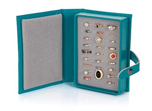 The little book of earrings portaorecchini a forma di - Porta orecchini a libro ...