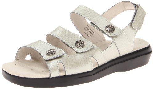 Propet Women's Bahama Sandal,Silver Emu,10 2E US